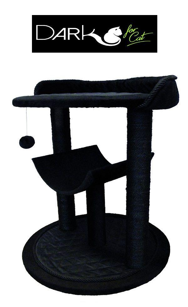 [NOUVEAUTÉ] Découvrez notre nouvelle gamme Dark for Cat ! Contemporaine et élégante : laissez-vous séduire par la tendance Blackstage !  Composé d'un espace couchage, l'arbre à chat Dark for Cat est recouvert d'une fourrure synthétique à poils court et d'un tissu matelassé. A retrouver en grande surface !