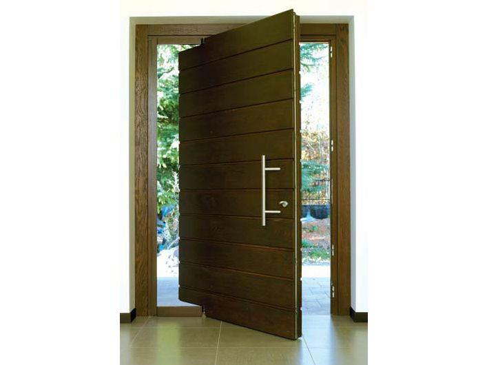 puerta de entrada pivotante by carminati serramenti - Puerta Pivotante