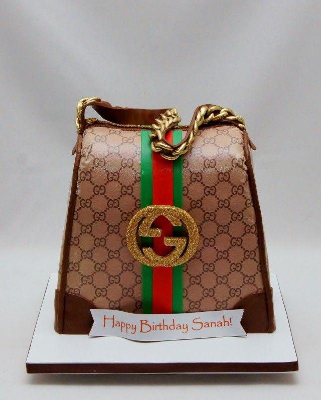 8ab5b7499e 3D Gucci Handbag Cake ...