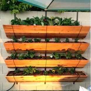 Indoor & Outdoor Planters You'll Love | Wayfair | Vertical ...