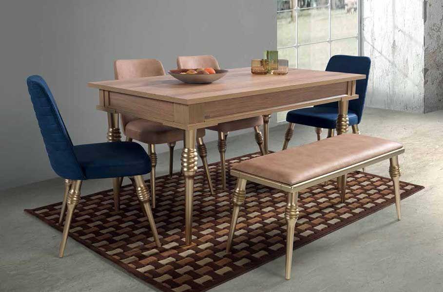 evmo imza salon masa sandalye takimi mese ic mekan fikirleri ic mekan mobilya