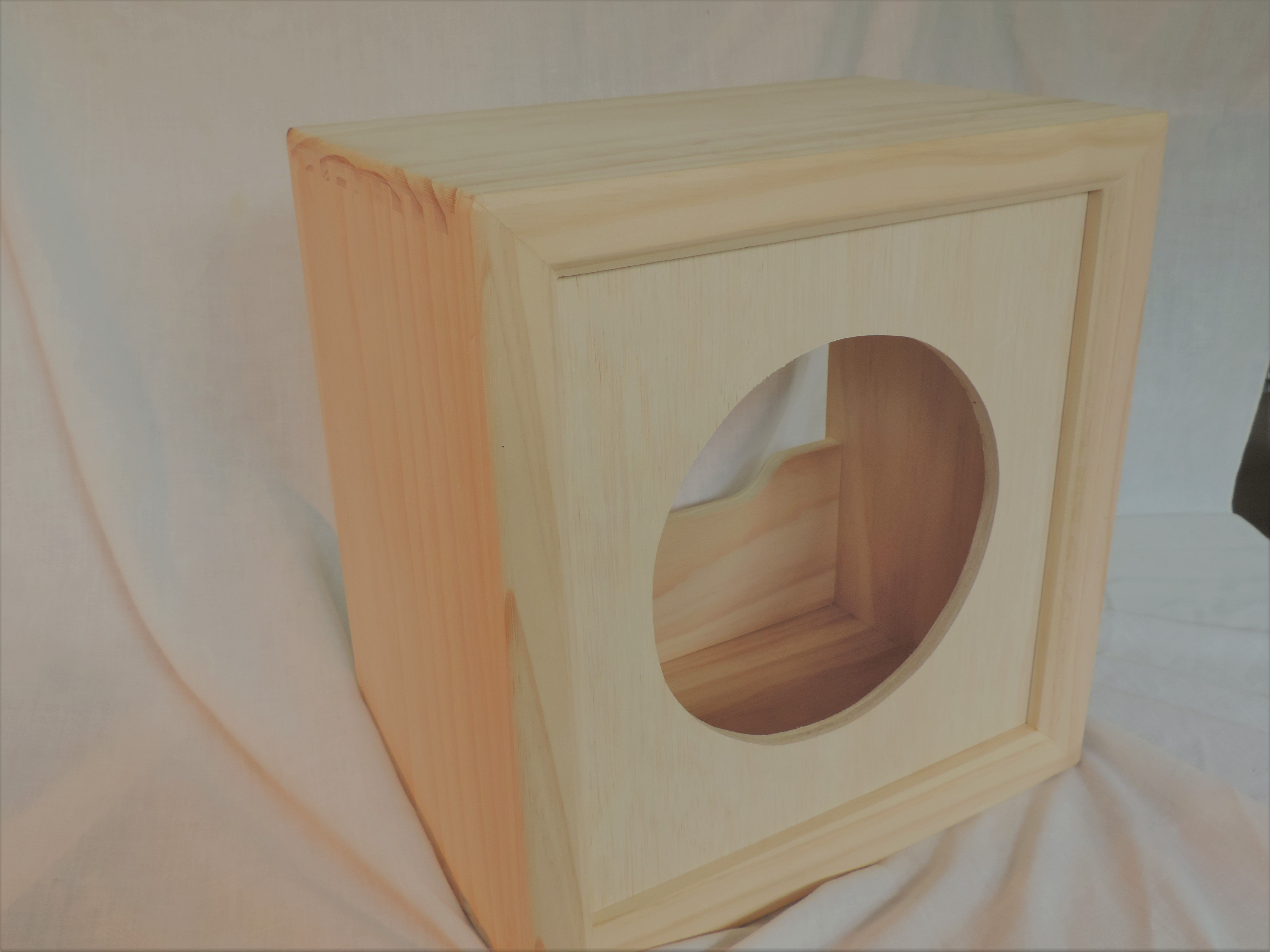 Naked Solid Pine 1x10 Guitar Cabinet Handmade by an American ...