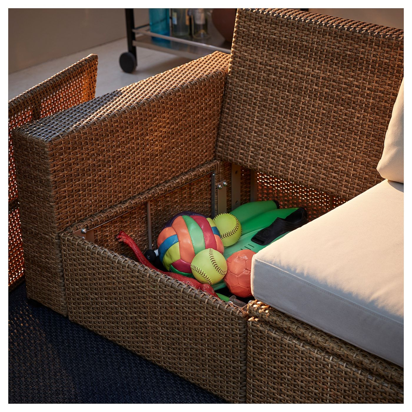 Ikea Solleron 2 Seat Modular Sofa Outdoor
