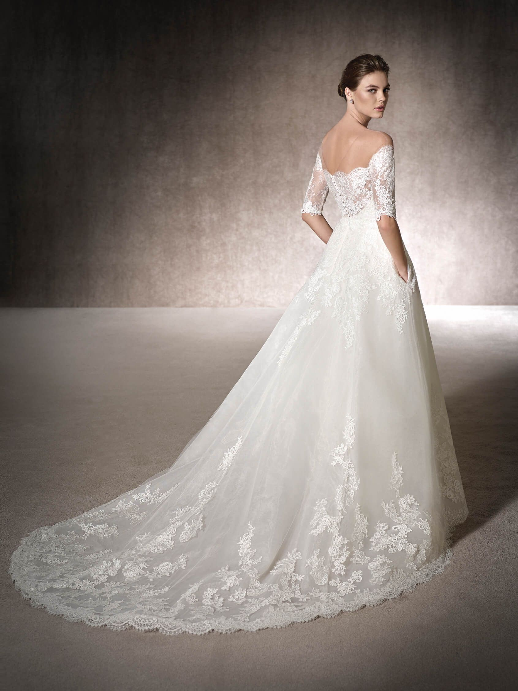 Aline wedding dress merina for julia pinterest wedding dress