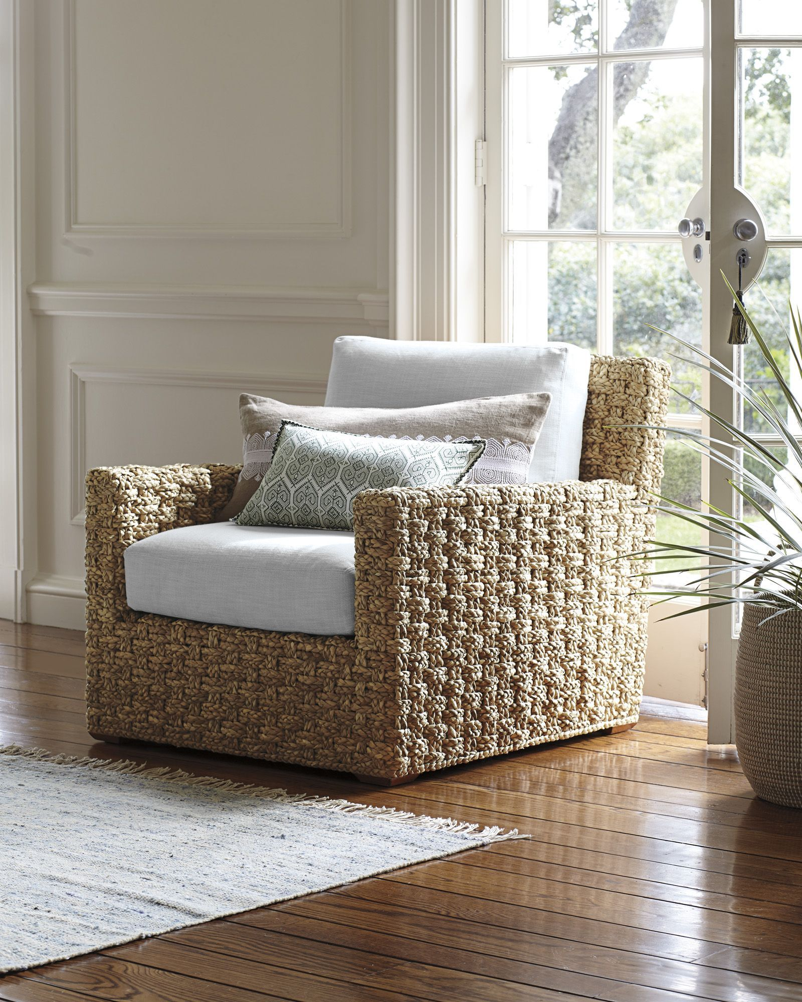 Costa Lounge Chair (With images) | Coastal living rooms ...