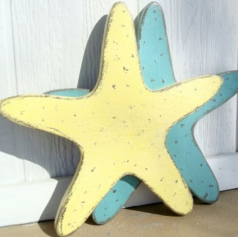 Shop Ocean Friendly Faux Starfish Decor | Starfish, Coastal and Woods