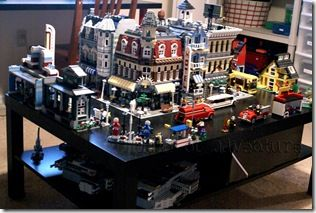 lego table and organization  Wish I could have something like this for my little one