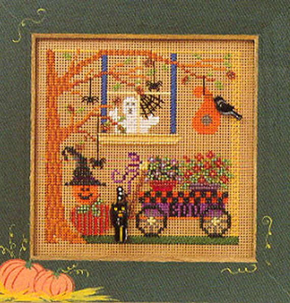 Mill Hill Spooky Garden Halloween Beaded Counted by DebiCreations ...