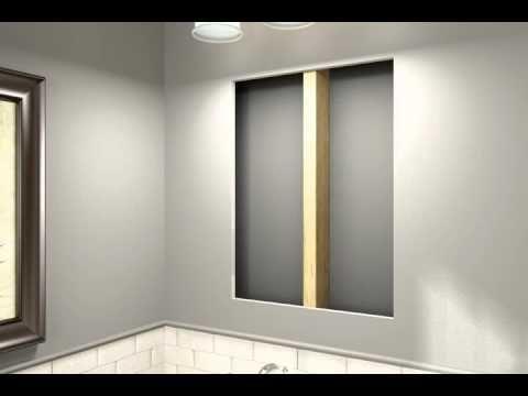 Attrayant Kohler Aluminum Frame Medicine Cabinets   Recessed Mount Installation