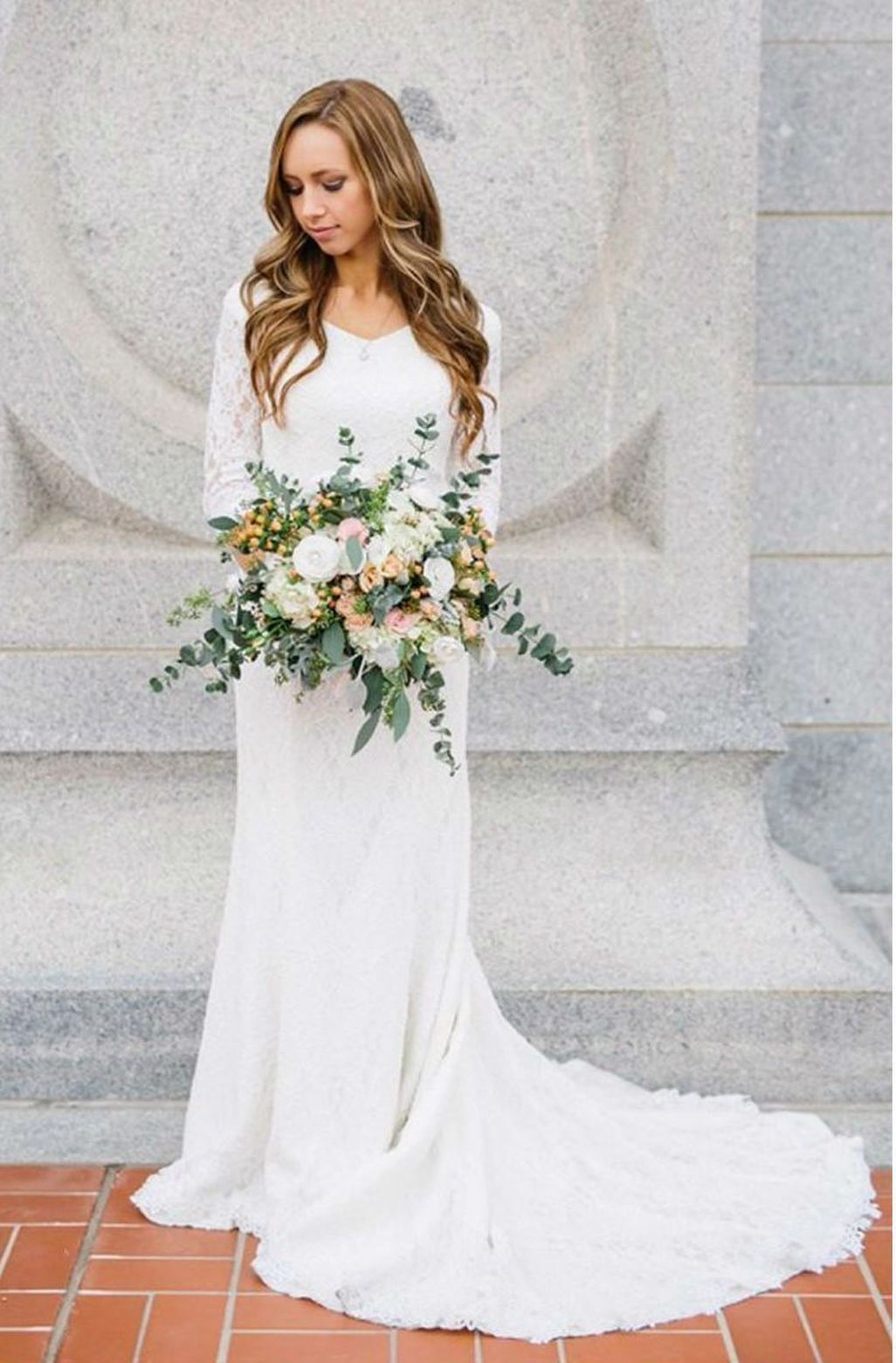 Cool beautiful rustic vintage wedding dress ideas every women