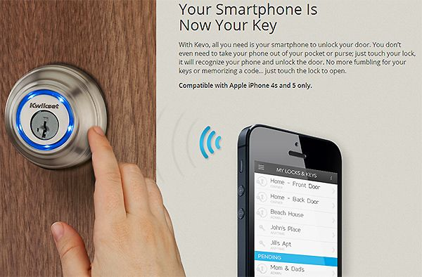 Kevo Lock Uses Your iPhone As A Key » 148Apps » iPhone, iPad, and ...
