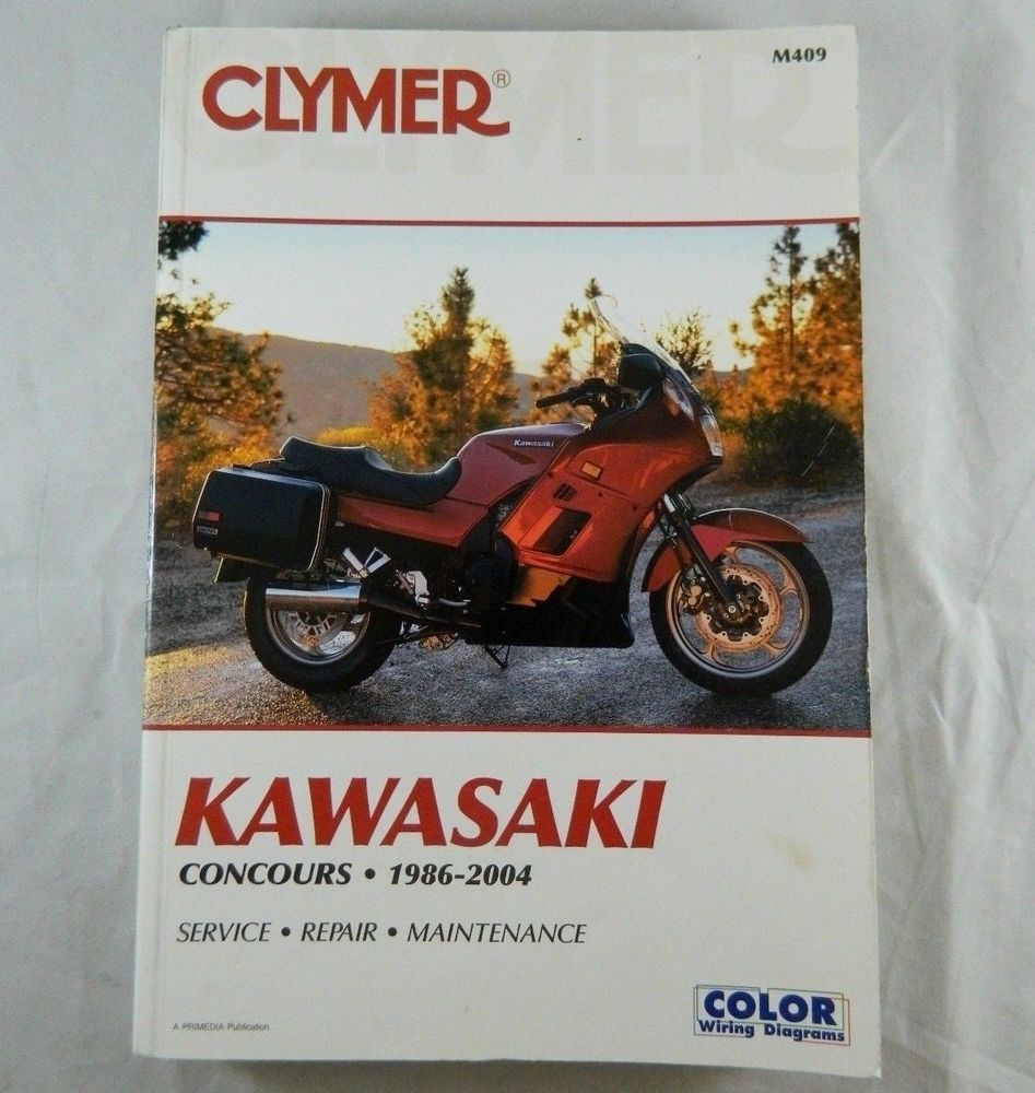 Clymer kawasaki concours 1986 2004 motorcycle repair book shop clymer kawasaki concours 1986 2004 motorcycle repair book shop manual m409 clymershopmanuals fandeluxe Choice Image