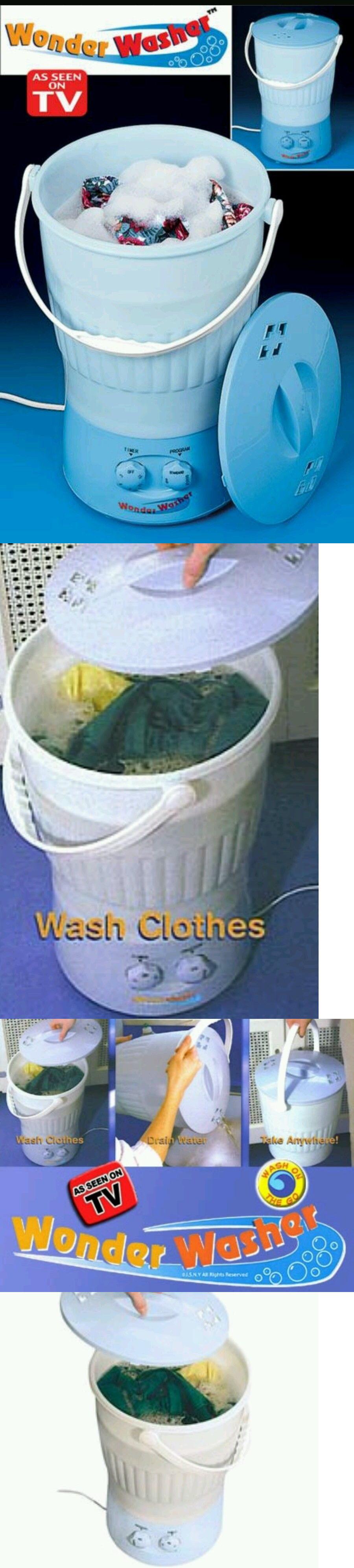 Travel Washing Machine Other Laundry Supplies 20624 Wonder Washer Portable Washing