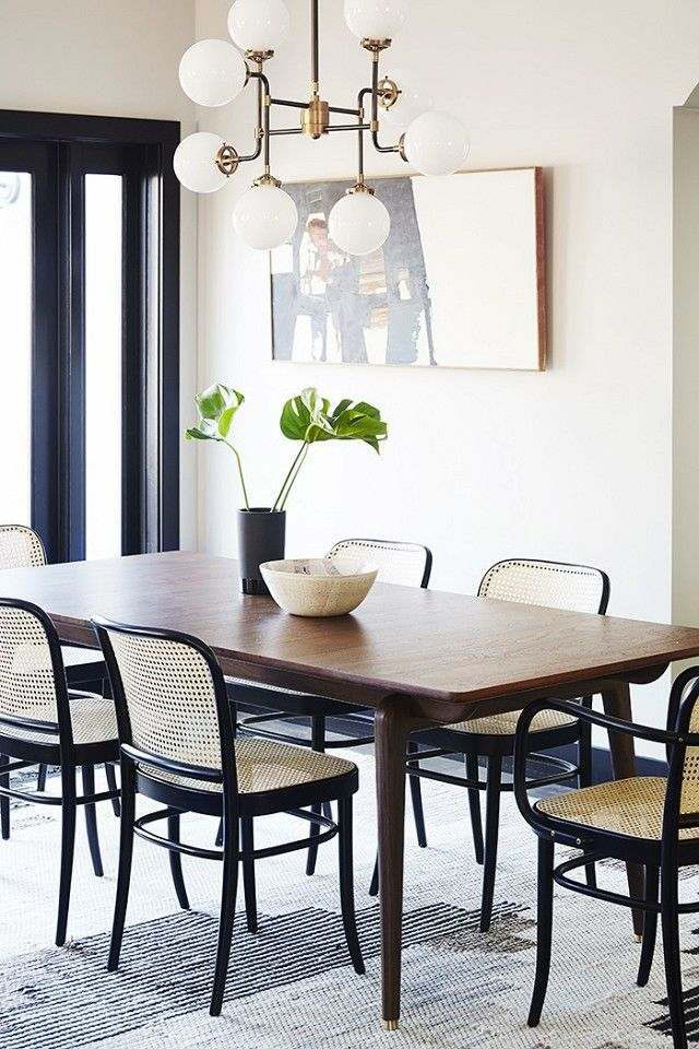 Home Tour A Brooklyn Inspired In LA Beautiful SpaceRoom StyleModern Dining
