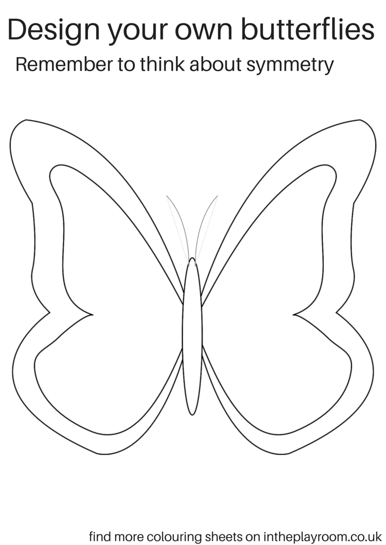Free Printable Butterfly Colouring Pages Butterfly Coloring Page