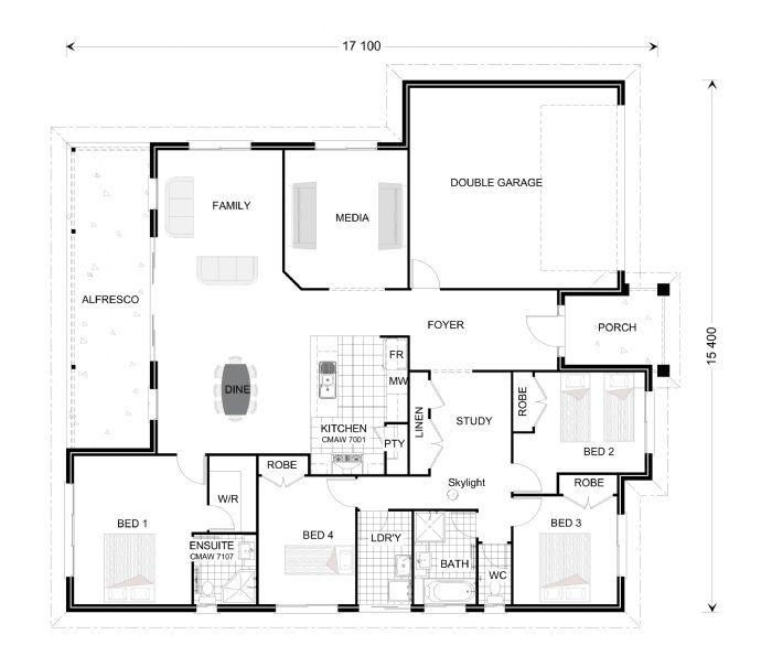 G J Gardner Floor Plans