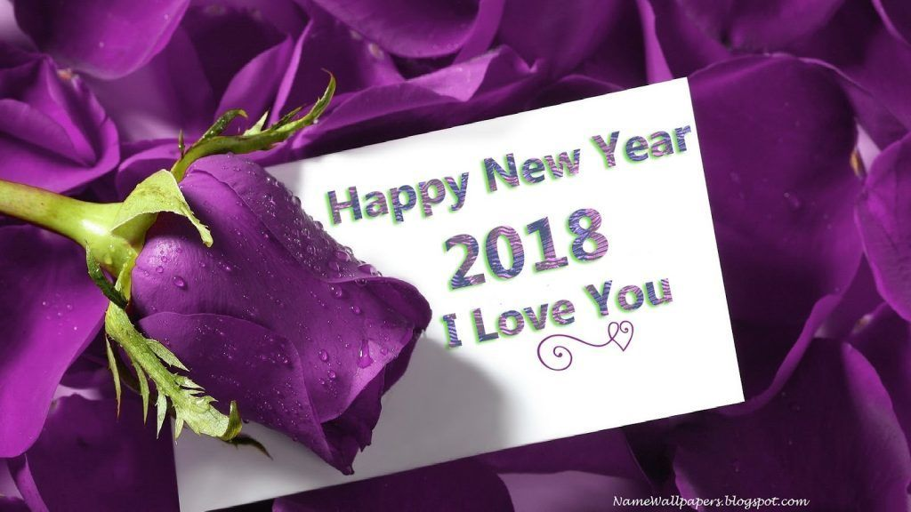 happy new year flower pictures 2018