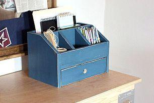Desktop Office or Vanity Beauty Organizer @anawhite