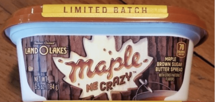 Land O'Lakes Released A New Maple Butter With Brown Sugar