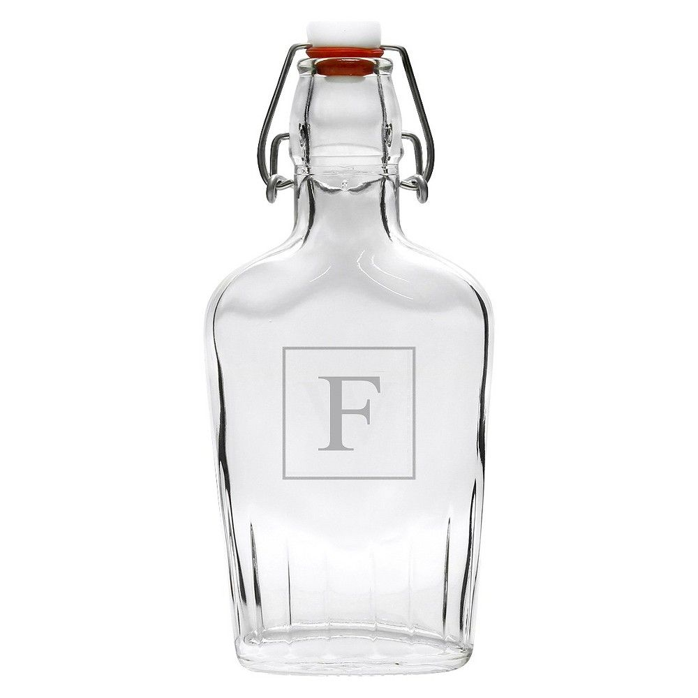 Personalized Monogram Glass Dispenser -