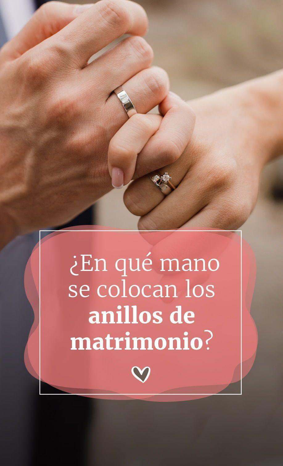 En Qué Mano Van Los Anillos De Compromiso Y De Matrimonio Anillos De Compromiso Anillos De Boda Grabados Tarjetas De Compromiso