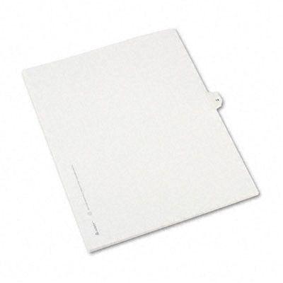 Allstate-Style Legal Side Tab Divider, Title: 14, Letter, 25/Pack (Set of 3)
