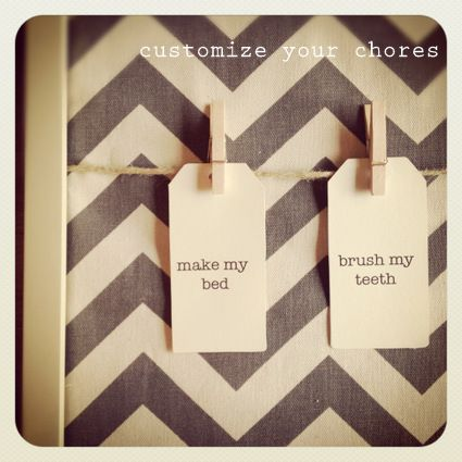 The Daily 5 Chore Board DIY LOVE Pinterest Chore board and
