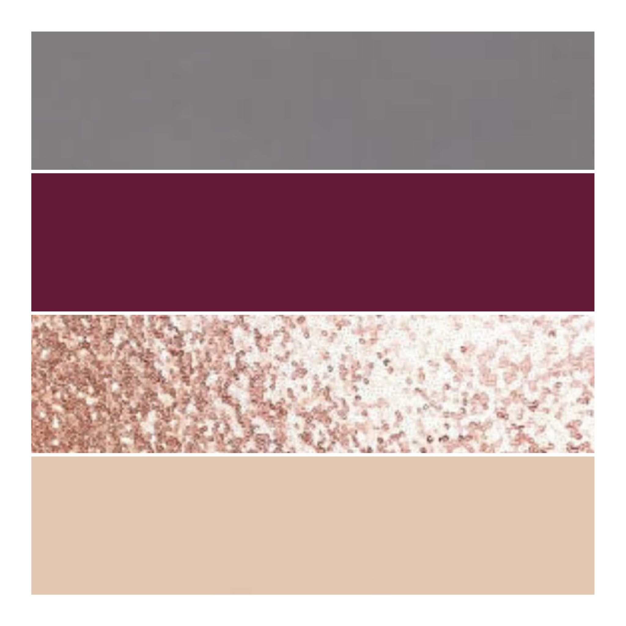Maroon and blue wedding decor  Dark grey burgundy rose gold and nude  Color schemes  Pinterest