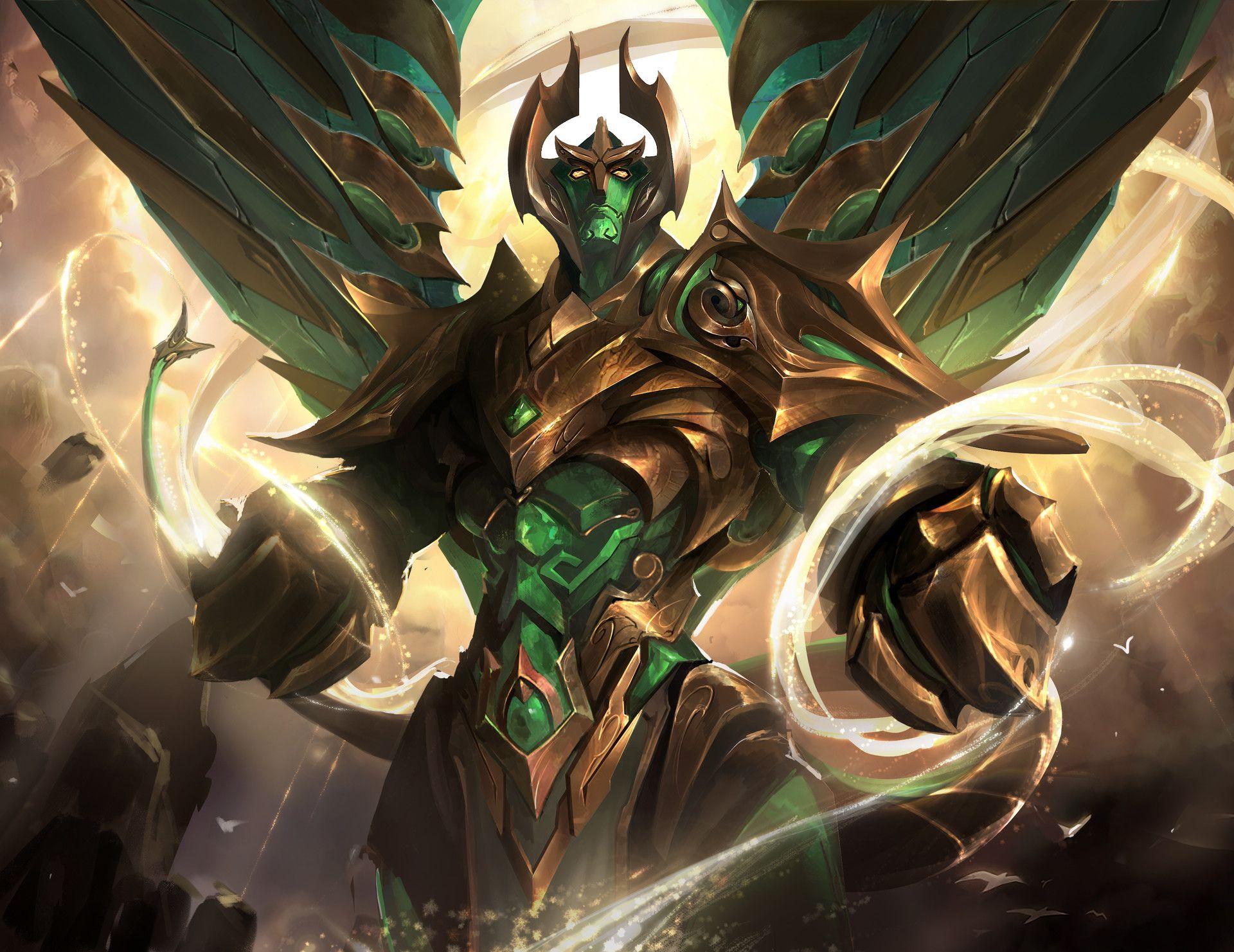 Artstation Galio Dante Liu Dark Fantasy Art Concept Art Characters League Of Legends Game