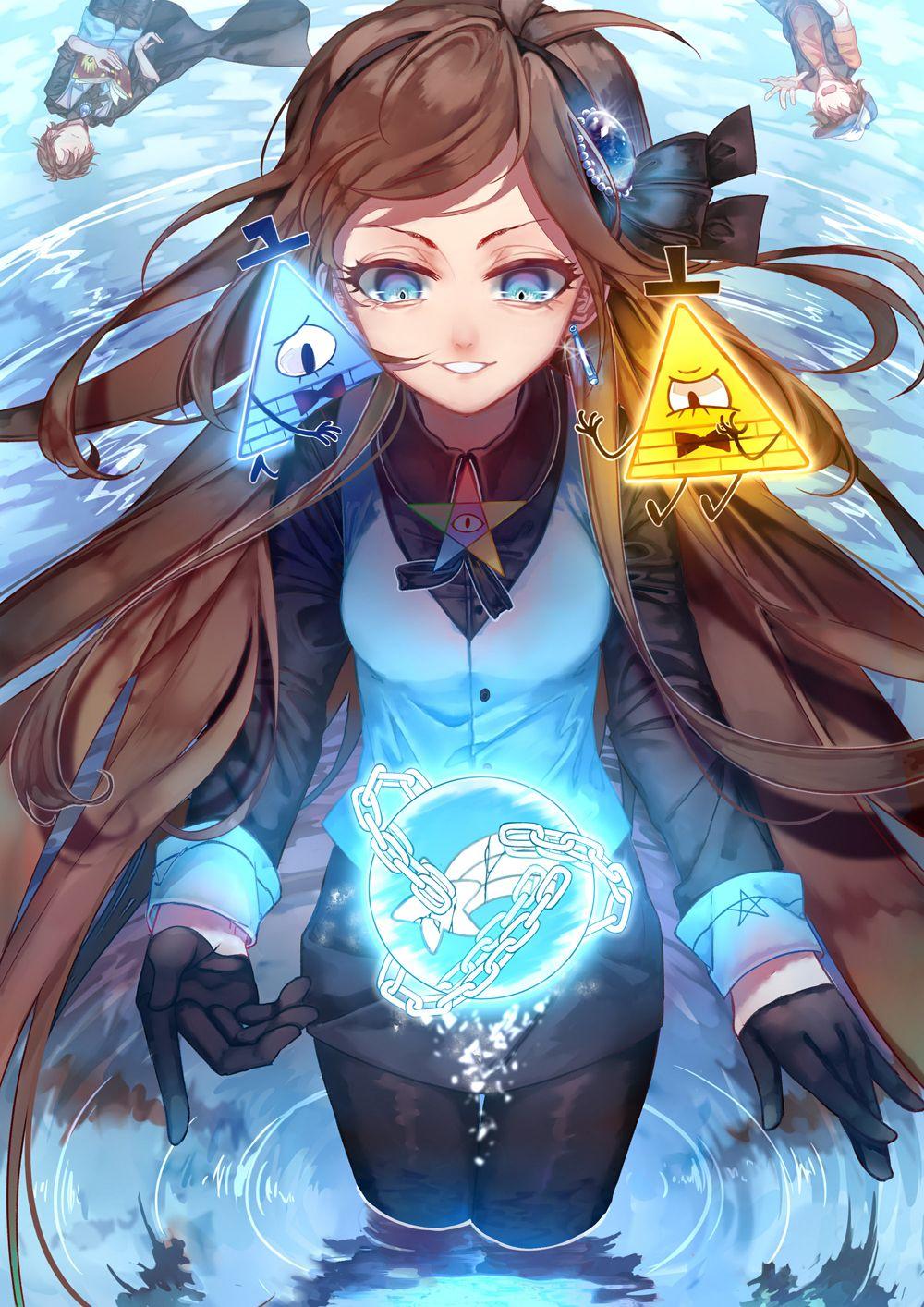 Let's reverse the world. Anime gravity falls, Gravity