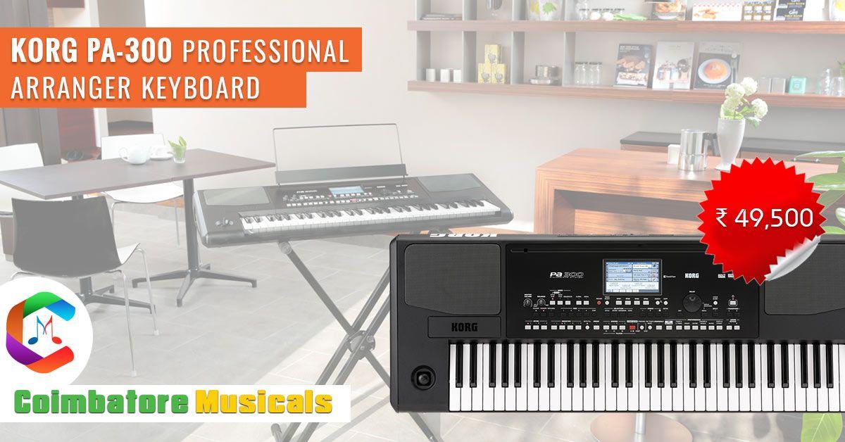 Korg PA-300 Professional Arranger Keyboard Coimbatore