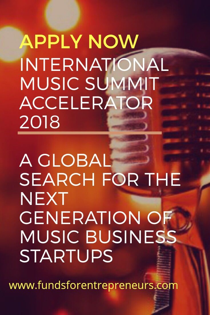 International Music Summit Accelerator 2018: A Global search for