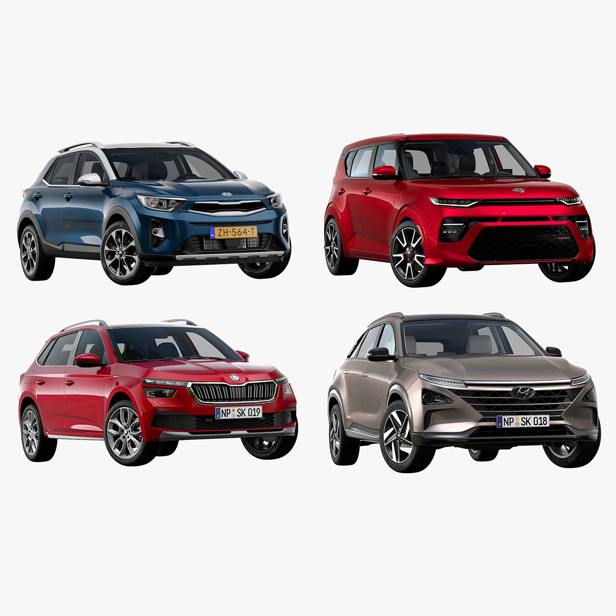 SUV Collection Vol.1 3D in 2020
