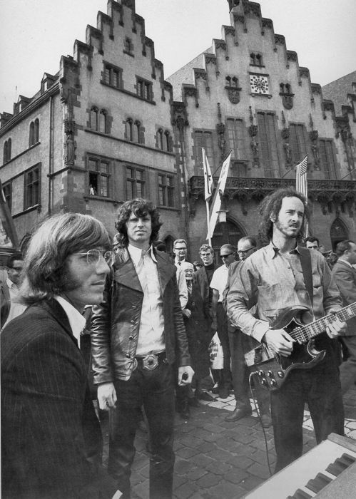 Taping of 4-3-2-1 Hot & Sweet, Romer Square in Frankfurt Germany September 13 1968