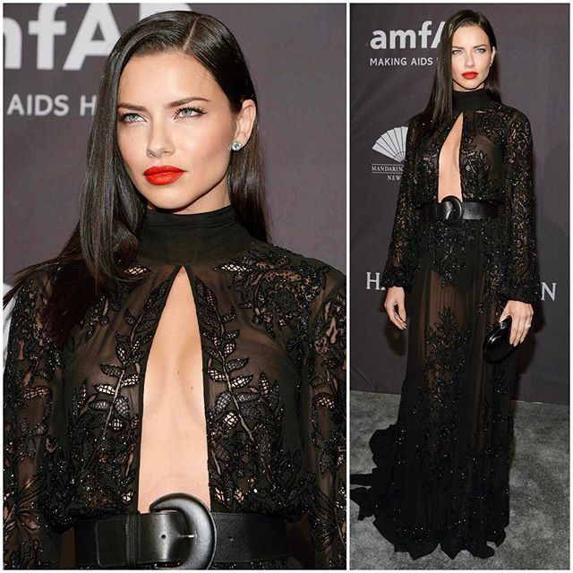 Adriana Lima wearing Zuhair Murad  _____________________________________________ Follow The Model Diet founder @ScotLouie ‼️ _____________________________________________ Editors Notes: love this! I'd love to see her step outside of her sexy same silhouette comfort zone
