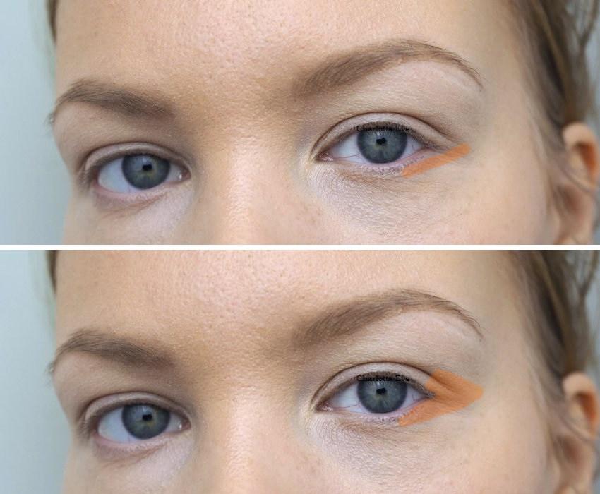 How To Makeup For Downturned Eyes Charlotta Eve In 2020 Makeup For Downturned Eyes Eyeliner For Downturned Eyes Hooded Eye Makeup