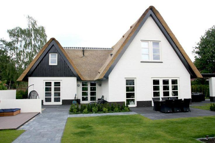 Afbeeldingsresultaat voor mooie witte huizen ideeen huis for Huizen zoeken die niet op funda staan