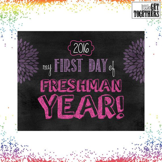 First Day Of School Sign Photo Picture Print - Back to School Sign - 8x10 Sign…