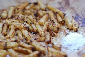 Gezonde patat van knolselderij - Eerlijker Eten