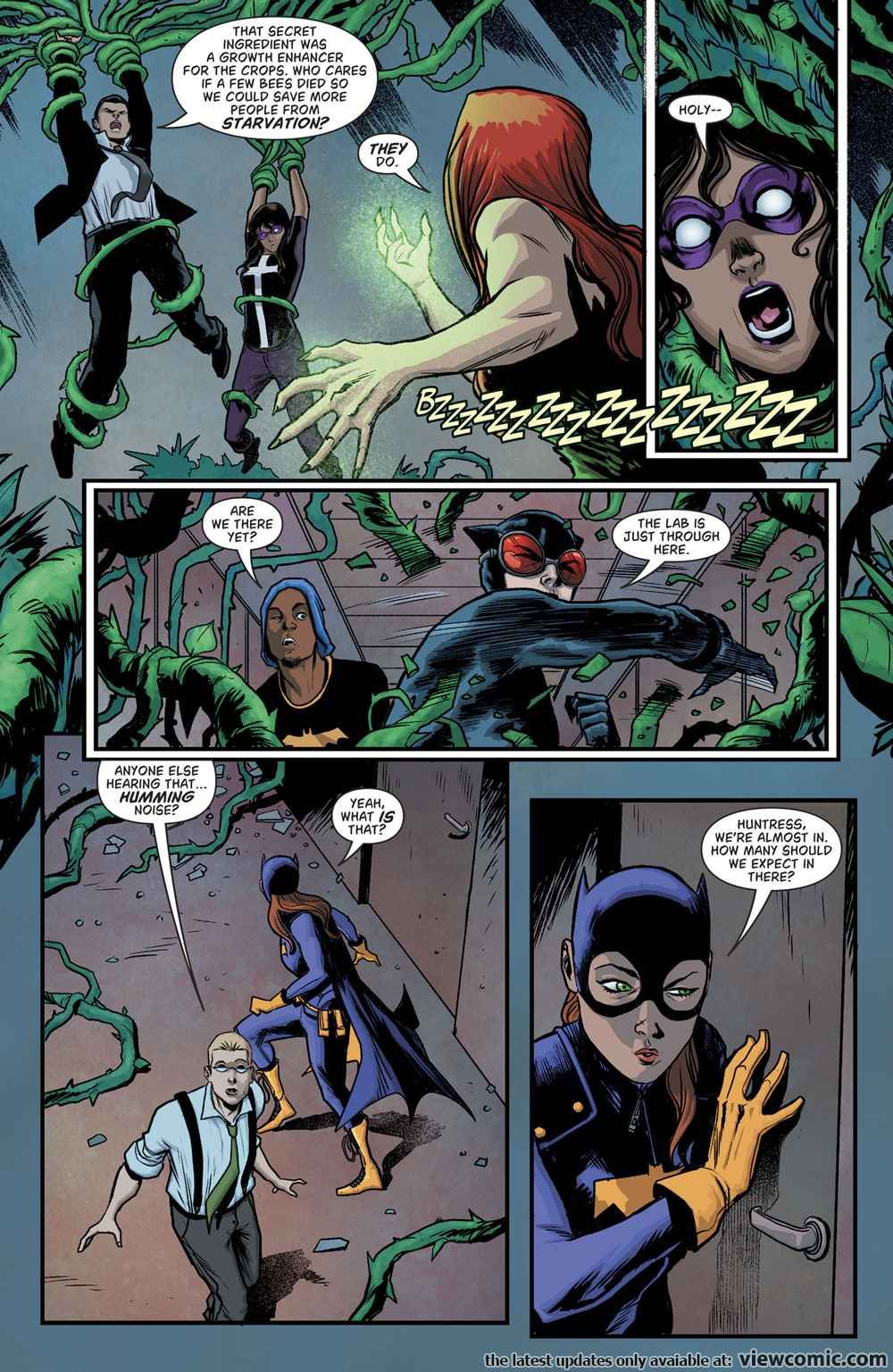 Batgirl and the Birds of Prey 013 (2017) ……  …  … …  | View