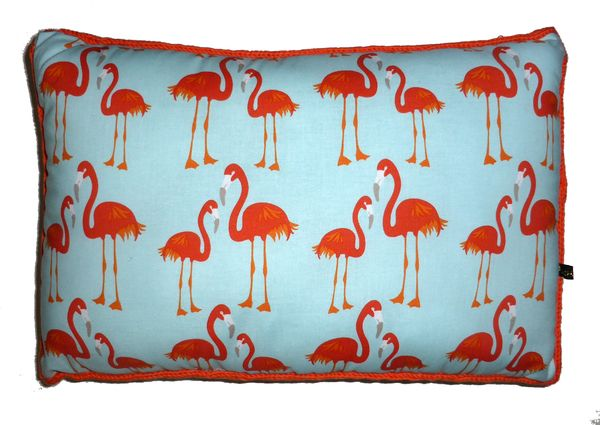 Coussin Flamand rose