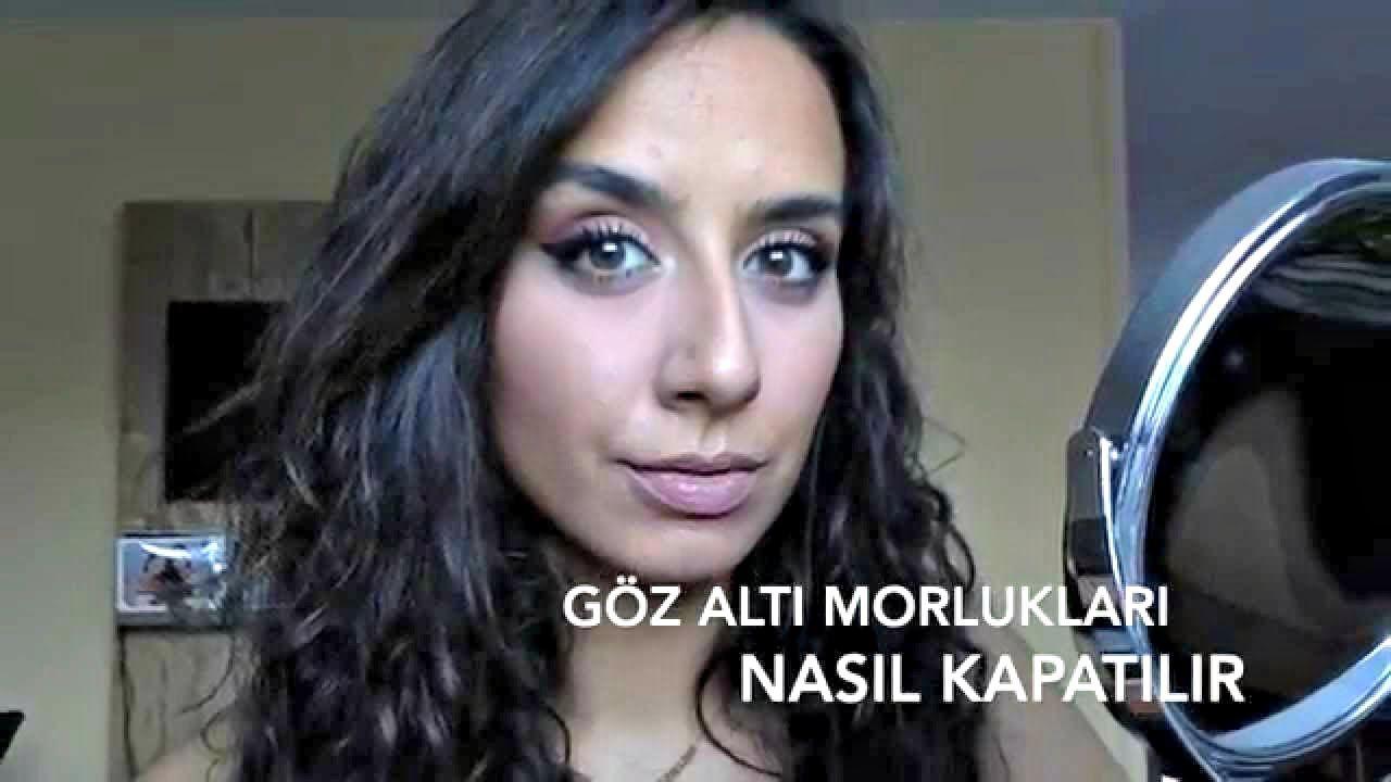 Göz Altı Morlukları Makyajla Nasıl Kapatılır