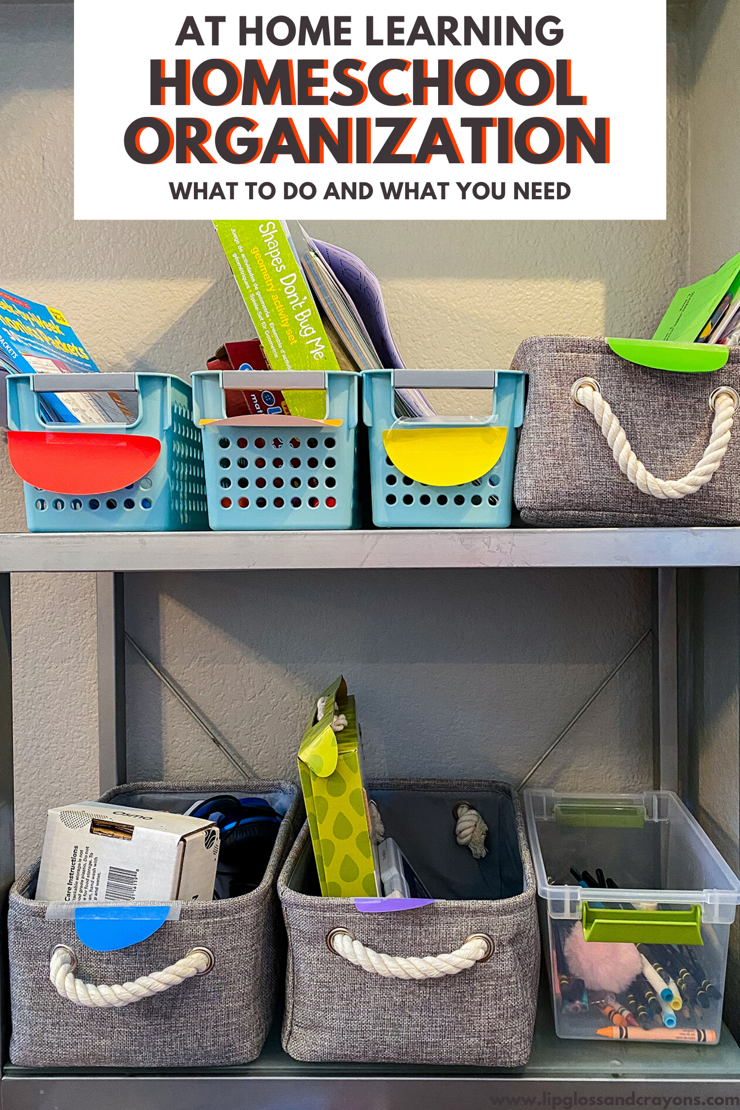 Homeschool Organization What To Do And What You Need