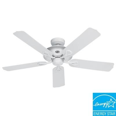 Hunter mariner 52 in indooroutdoor white ceiling fan 21955 at hunter mariner 52 in indooroutdoor white ceiling fan 21955 at the home mozeypictures Images