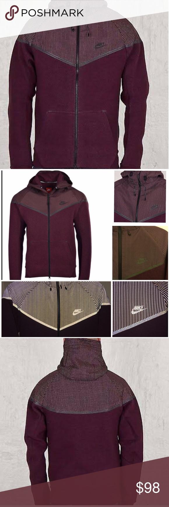 Nwt nike tech fleece windrunner jacket new w tags style