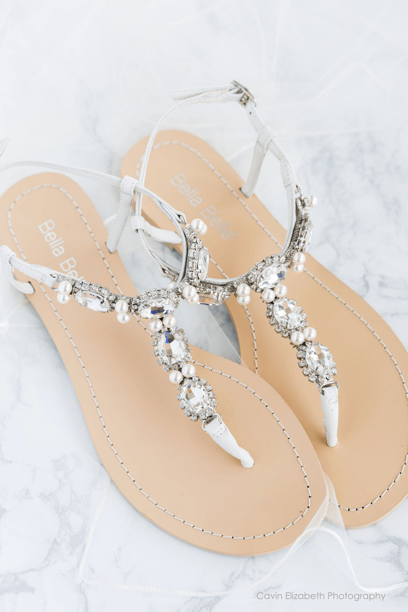 4fe62dbe1321 Hera - Thong sandal - Rows of sparkling oval cut sparkles and pearls -  Pictures