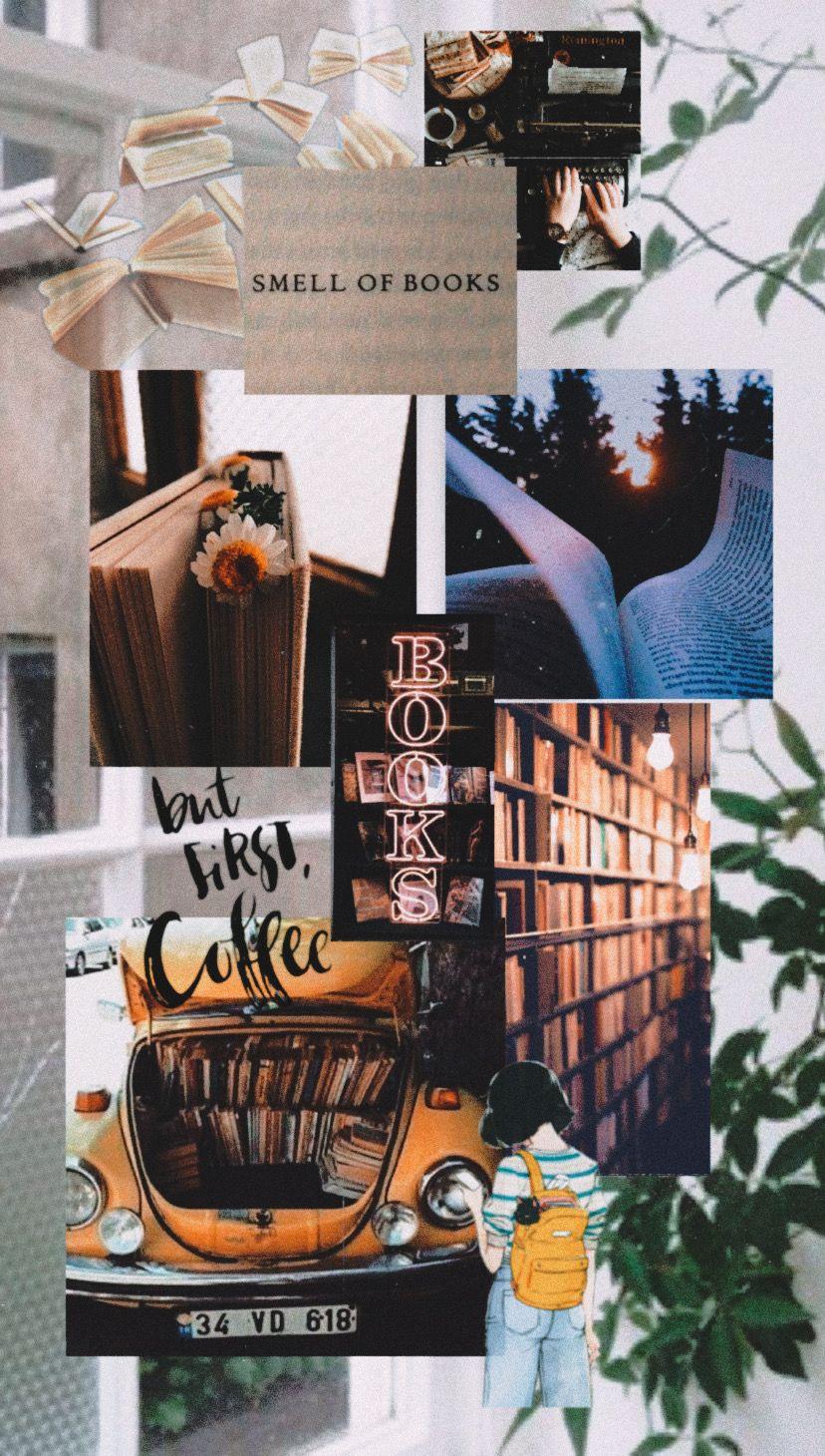 Thatweirdkidmiranda Profiles Iphone Wallpaper Books Coffee Wallpaper Iphone Book Wallpaper