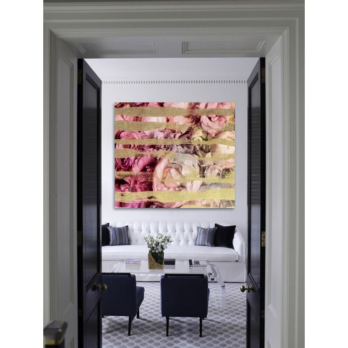 Fields of Roses Canvas