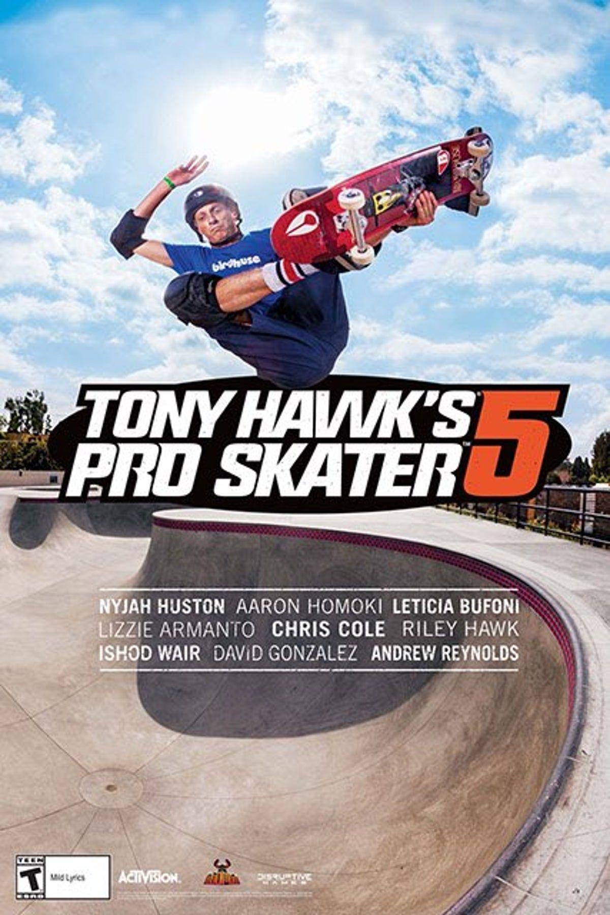 Tony Hawk's Pro Skater 5 Promo Poster on Mercari in 2020