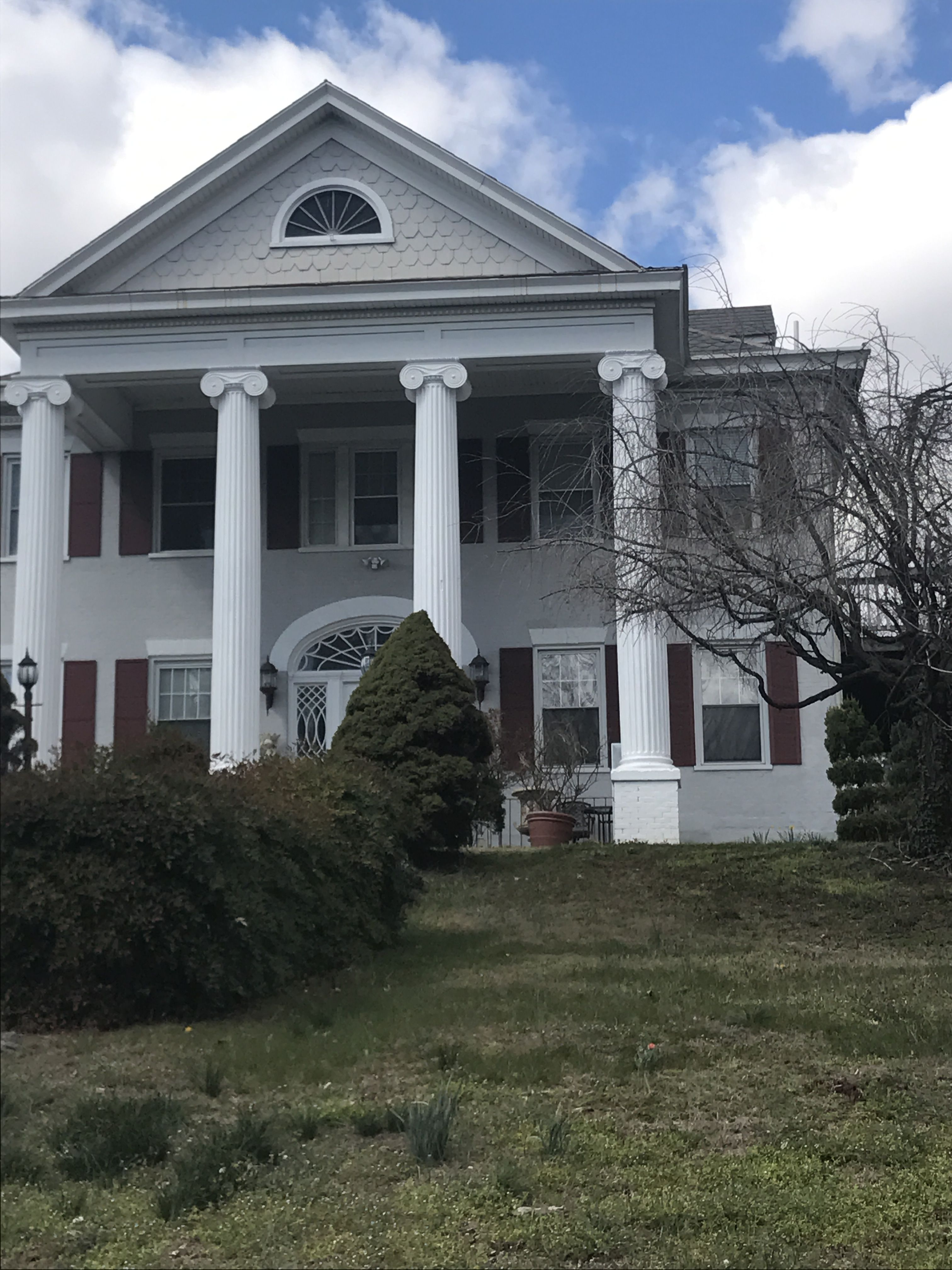 Old Mansion now apartment building Grandin Village Roanoke VA